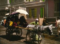 This is how you got around in Egypt in 1910. | These Color Photos Of Cairo In 1910 Will Blow Your Mind