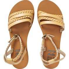 Untold Sun Sandals (1.265 UYU) ❤ liked on Polyvore featuring shoes, sandals, vegan sandals, braided ankle-wrap sandal, flat strap sandals, buckle sandals and flat sandals #sandalsflat