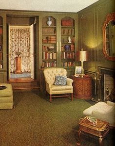 kenamp: Awesome 1963 ranch living room furniture placement Conversation House Beautiful Furniture Styles Pictures Interior Design From The 1960s Furniture, Furniture Styles, Furniture Design, Furniture Storage, Bedroom Furniture, Modern Furniture, 1960s Interior, Interior Design, Beautiful Interiors