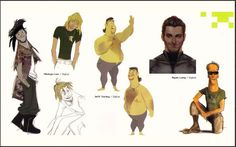 Concept art of Wreck-It Ralph - Bobby Dunderson