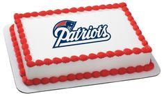 EDIBLE IMAGE-NFL-NEW ENGLAND PATRIOTS Cake - Cakes.com