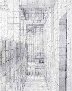 graphite on paper Adriana Varejao O obsessivo