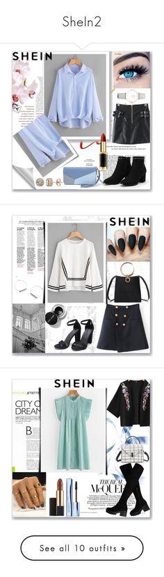 """""""SheIn2"""" by musicajla ❤ liked on Polyvore featuring Post-It, CLUSE, MINX, Diamond Splendor, L'Oréal Paris, Estée Lauder, Levi's, Casetify, Skechers and Charlotte Russe"""