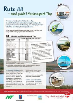 Nationalpark Thy tilbyder guidede busture i hele sommerperioden www.visitthy.dk
