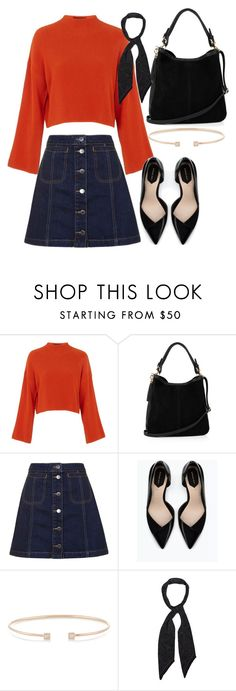 """""""Untitled #574"""" by ashleyxx67 ❤ liked on Polyvore featuring Topshop, Oasis, Zara, Jemma Wynne and Rockins"""