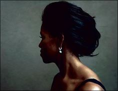 Michelle Obama, by Annie Leibovitz for Vogue