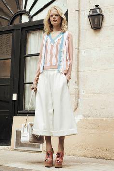 Sonia Rykiel Resort 2014 Fashion Show - Hanne Gaby Odiele