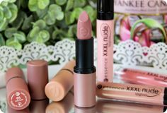 Essence I Love Nude Collection Review Pink Peonies Blog, Girly Things, Girly Stuff, Trend News, Lip Gloss, Swatch, Make Up, Lipstick, Nude