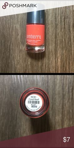 Jamberry Nail Lacquer in Coral Reef! A new bottle of Jamberry Professional Nail Lacquer in Coral Reef! A creamy bright Coral perfect for spring and summer tips and toes! Jamberry Makeup
