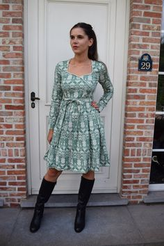 Nieuw! :: Bottom of my heart robe green granny - Blutsgeschwister