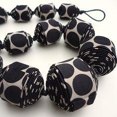 Стильные украшения из галстуков, шнурков и платков от Cecile Bertrand - Ярмарка…