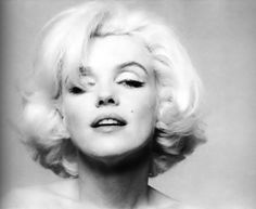 """Marilyn Monroe by Bert Stern, Bel Air Hotel, late-June, 1962. This photo, taken before MM's death on August 5th, 1962, was one of many portraits Stern shot for """"Vogue"""" magazine in a session that spanned over three days and which was the photographer's only photo shoot with Monroe."""