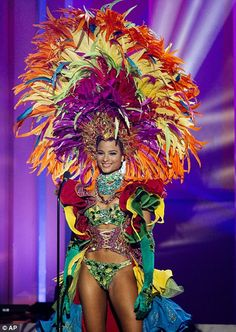 Fennell in national costume...