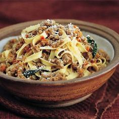 """This is the ultimate pull out all the stops bolognese sauce.  I've had a few """"this is the best thing I've ever eaten"""" comments from dinner guests."""