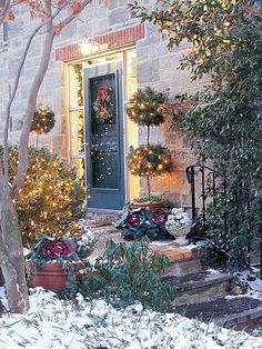 . . . I like to think that we can we decorate with lights the whole winter season bringing light to very dark days -- Outdoor Holiday Lighting Tips