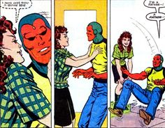 The Vision Loves Scarlet Witch
