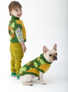 Check out the other patterns you can make for your child and your little dog too!
