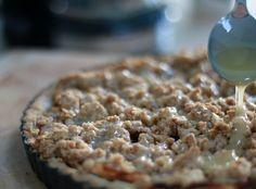 recept appeltaart met gezouten karamel