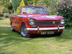 Triumph Herald 1360 cabrio