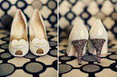 #casamento #sapatosdenoiva #personalizados #glitter