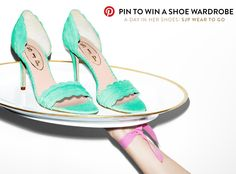 $2,000 worth of SJP shoes? Yes, please. #sweepsentry