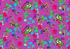 Tecido Pássaros - Cor 03 www.elo7.com.br/modelarcasa  www.modelarcasa.com.br  www.facebook.com/modelarcasa  contato@modelarcasa.com.br