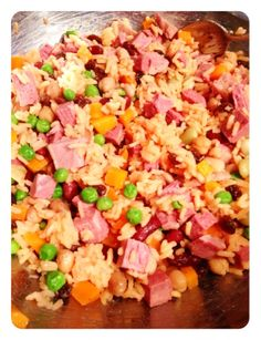 Cooking For Busy Mums: RAINBOW RICE