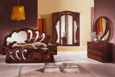 Schlafzimmer Bella in weiss Luxus italienische Designer Möbel ...