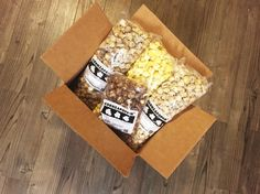 The best kind of gift - popcorn! Check out all of the flavors offered at Cornzapoppin