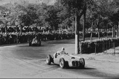 Godia-Sales Spanish GP 1951 10th place in first GP