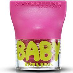 Le 1er baume à lèvres & blush de Gemey-Maybelline. http://www.maybelline.fr/levres/baume-a-levres/baume-a-levres-et-joues/baume-a-levres-et-joues-babylips-balm-et-blush.aspx