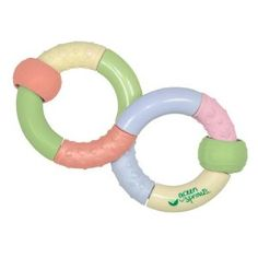 green sprouts Infinity Teether Rattle