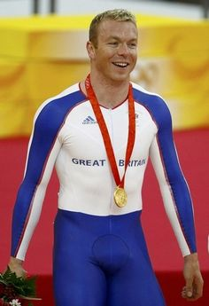 Chris Hoy of Great Britain won his fifth Olympic gold medal today in London.