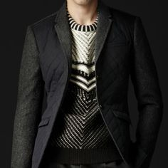Skinny Fit Quilted Jacket by Burberry - lifestylerstore - http://www.lifestylerstore.com/skinny-fit-quilted-jacket-by-burberry/