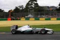 Round 1, Rolex Australian Grand Prix 2013, Qualify, P3 Lewis Hamilton (1m28.087), Mercedes AMG Petronas F1 Team