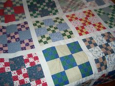 nine-patch quilt