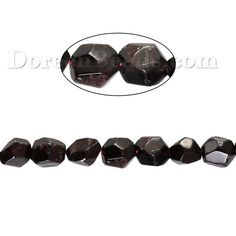 Worldwide Free Shipping (Grade B) Garnet ( Natural) Gemstone Loose Beads Irregular Wine Red Faceted About 16mm x12mm( 5/8 x 4/8) - 12mm x10mm( 4/8 x 3/8), Hole: Approx 1mm, 40cm(15 6/8) long, 1 Strand (Approx 29 PCs/Strand) [B0080331] at incredible low price– DoreenBeads.com