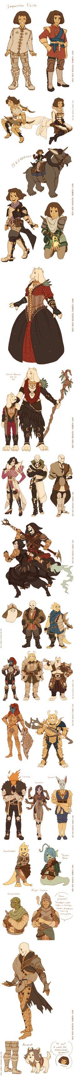 Undertale - Dragon Age #AU