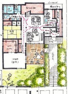 けいかく中 bowsteps – バウステップス – - 名古屋市の住宅設計事務所 フィールド平野一級建築士事務所
