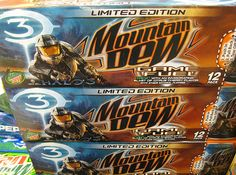 Mountain Dew Game Fuel is associated with gaming a lot of time. It is also used to promote gaming tournaments.