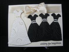cute invite for a shower! Wedding Dresses Card