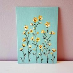 Your place to buy and sell all things handmade Paige Ann Small Canvas Paintings, Easy Canvas Art, Small Canvas Art, Mini Canvas Art, Cute Paintings, Acrylic Painting Canvas, Acrylic Art, Chalk Painting, Easy Art