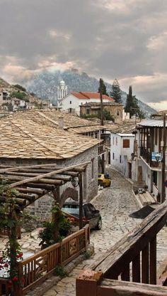 Kastanitsa village, Arcadia, Greece   by Panos T. Mourlas