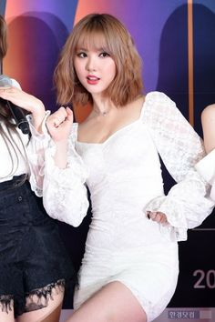 Kpop Girl Groups, Korean Girl Groups, Kpop Girls, G Friend, Celebs, Celebrities, Sexy Asian Girls, South Korean Girls, Hair Goals