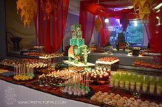 hindu dessert table