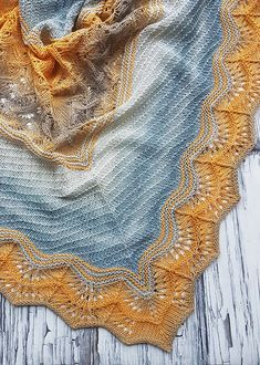 Maeva, – Section 4 – The Best Ideas Poncho Knitting Patterns, Shawl Patterns, Lace Patterns, Lace Knitting, Knitting Stitches, Knit Crochet, Sport Weight Yarn, Diy Couture, Knitting Accessories