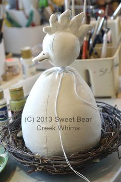 Sweet Bear Creek Whims Happenings...: The Building Of Henrietta Hen Part 1