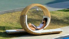 I'd like one of these in my garden... wouldn't you? Creative lovers deck chair