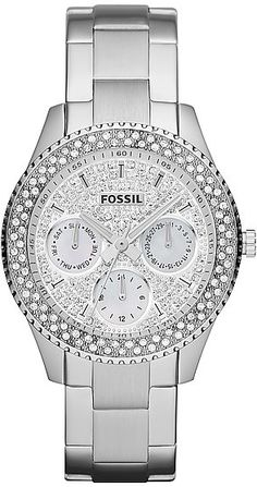 #Fossil #Watch , Fossil - Stella Multifunction Stainless Steel - ES3143