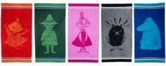 Finlaysonin Muumi-pyyhkeitä Myystä Mörköön Marimekko, Home Textile, Napkins, Textiles, Tableware, Dinnerware, Towels, Dinner Napkins, Tablewares